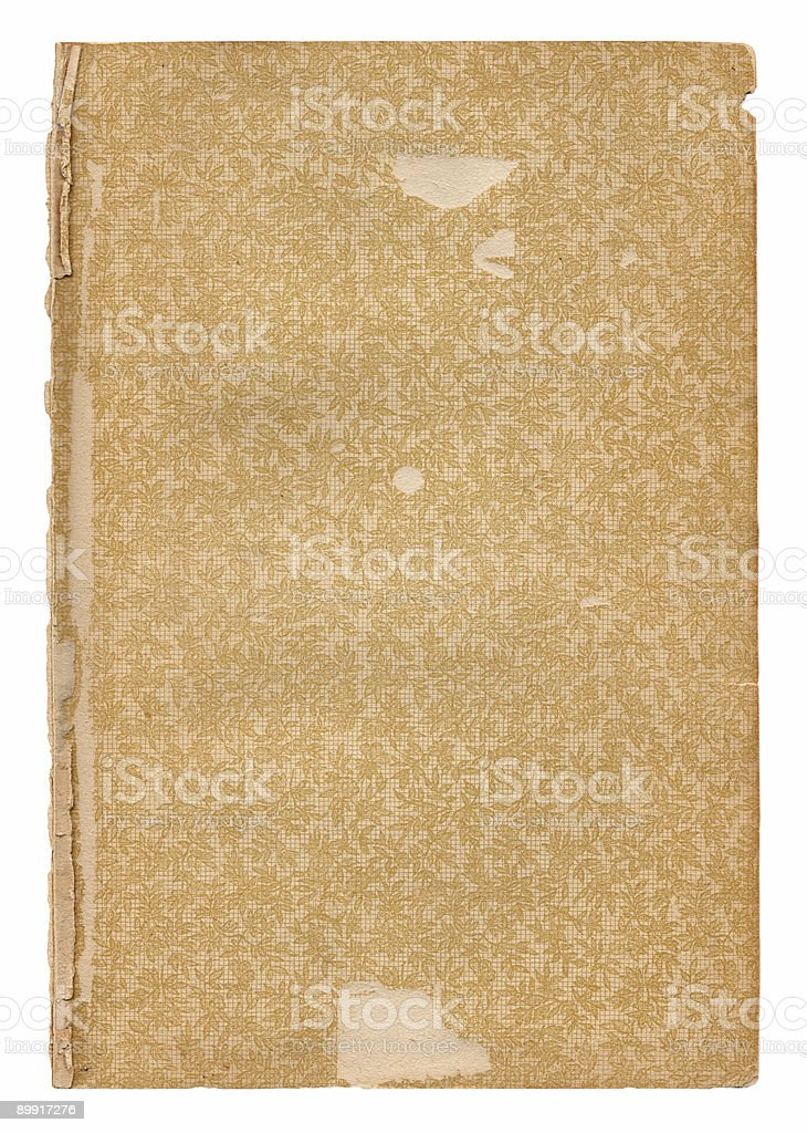 Vintage Patterned Paper (XL) royalty-free stock photo