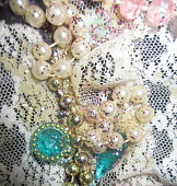 Vintage Pearls and Lace
