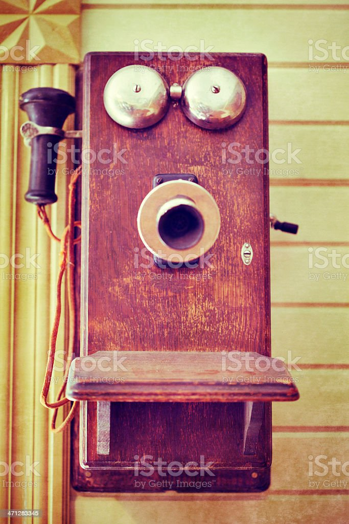 Vintage Phone royalty-free stock photo