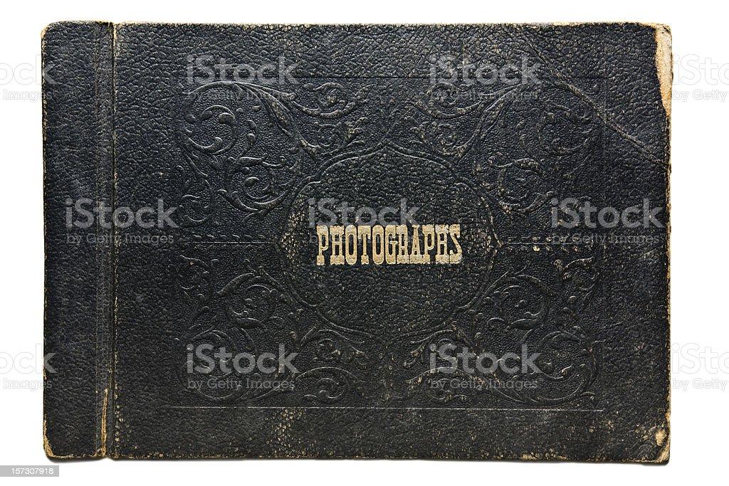 Vintage Photo Album Cover royalty-free stock photo