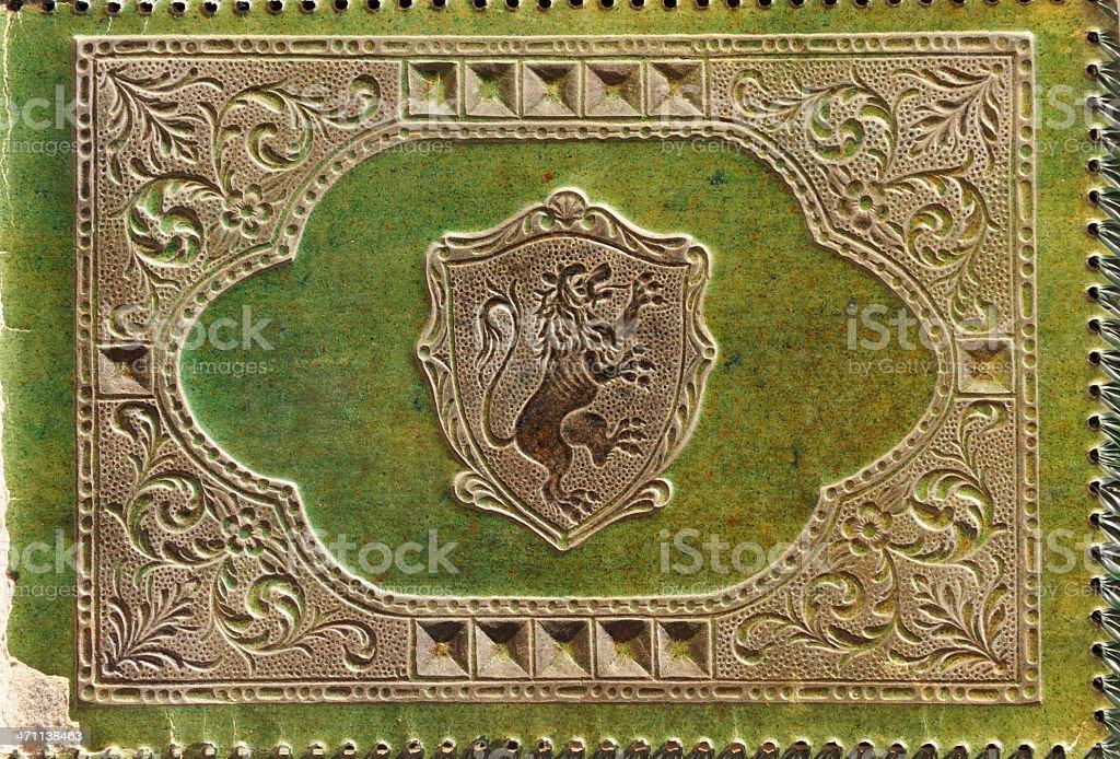 Vintage  photo album royalty-free stock photo