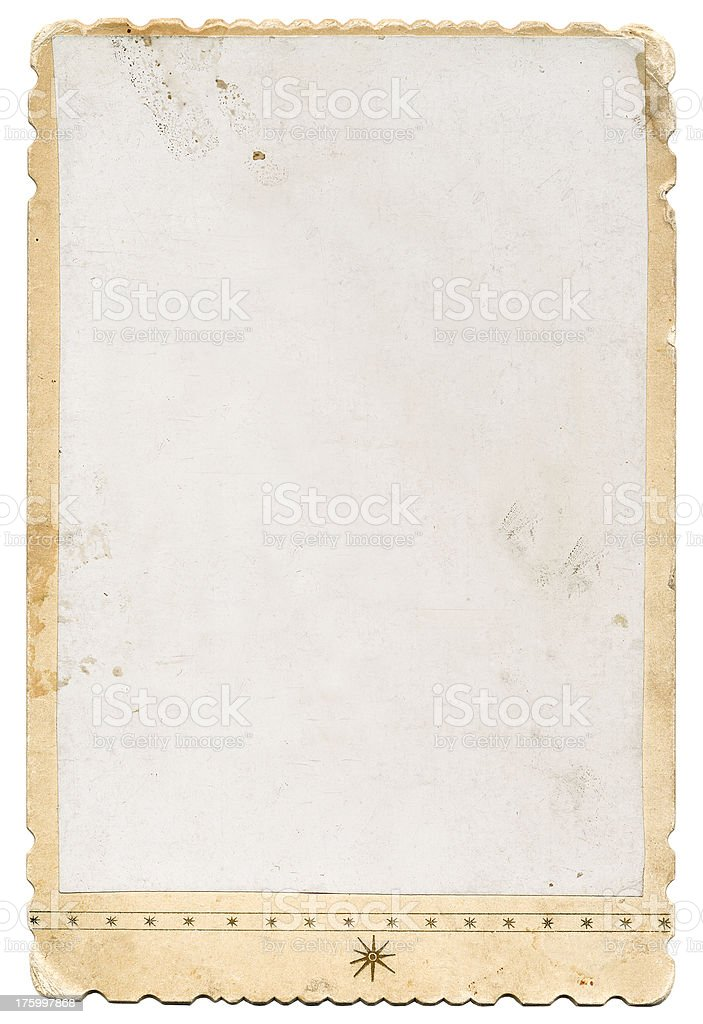 Vintage Photo Border royalty-free stock photo