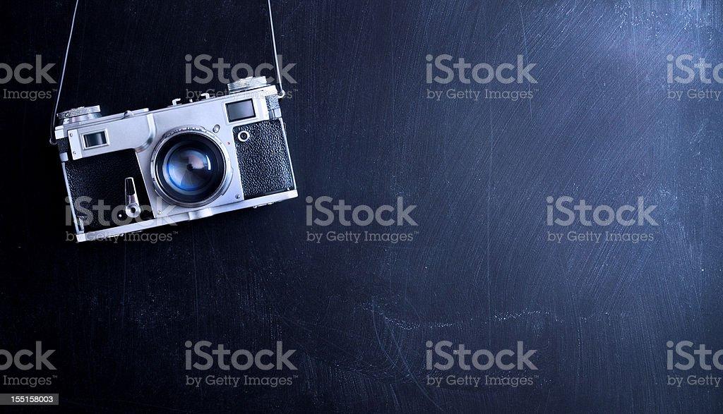 Vintage photo camera royalty-free stock photo
