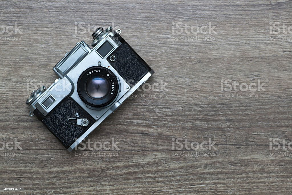 vintage photo camera royalty-free stock photo