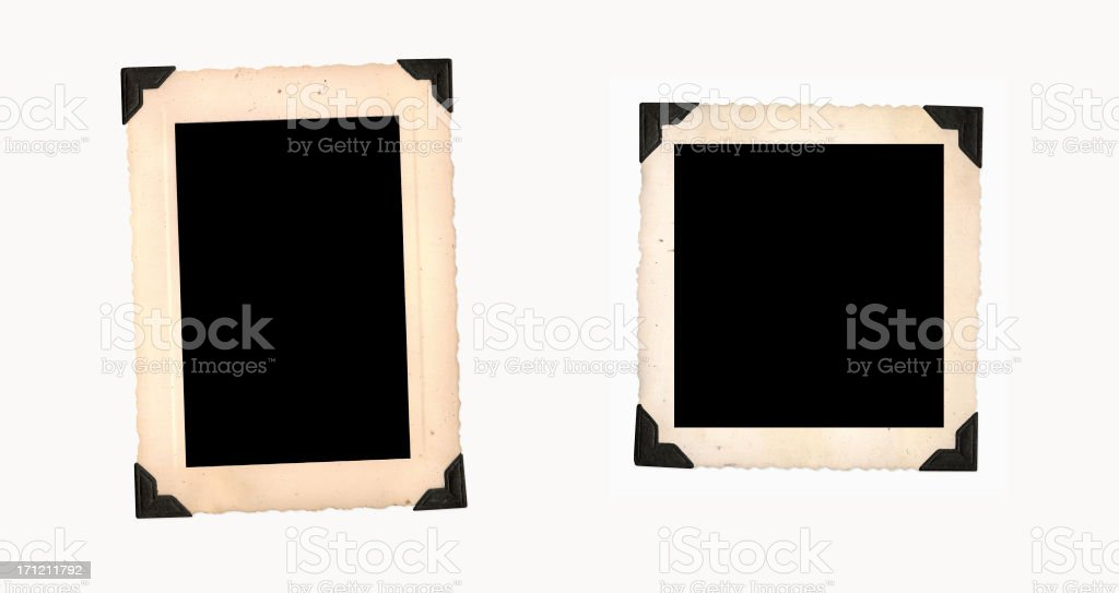 Vintage Photo Frames stock photo