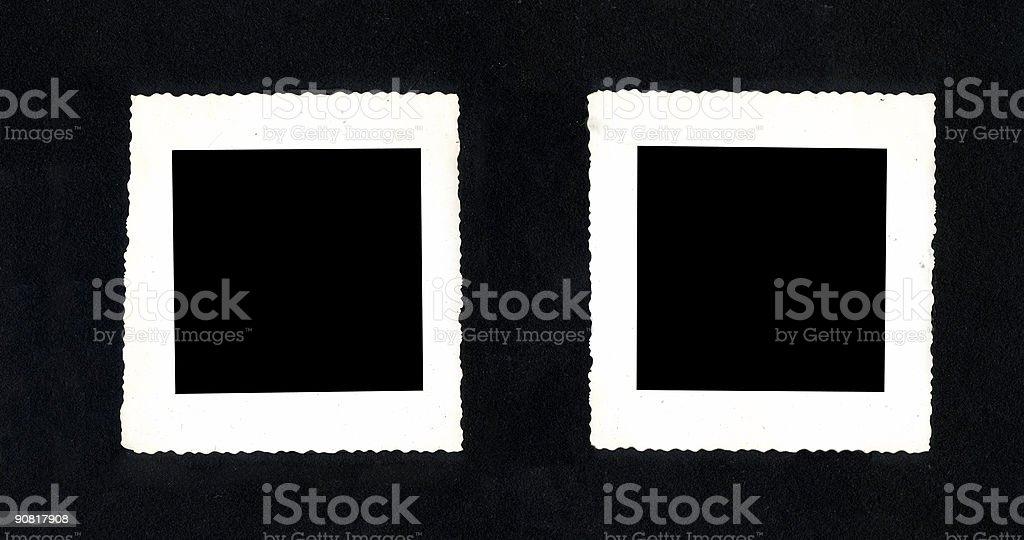Vintage Photo Frames royalty-free stock photo