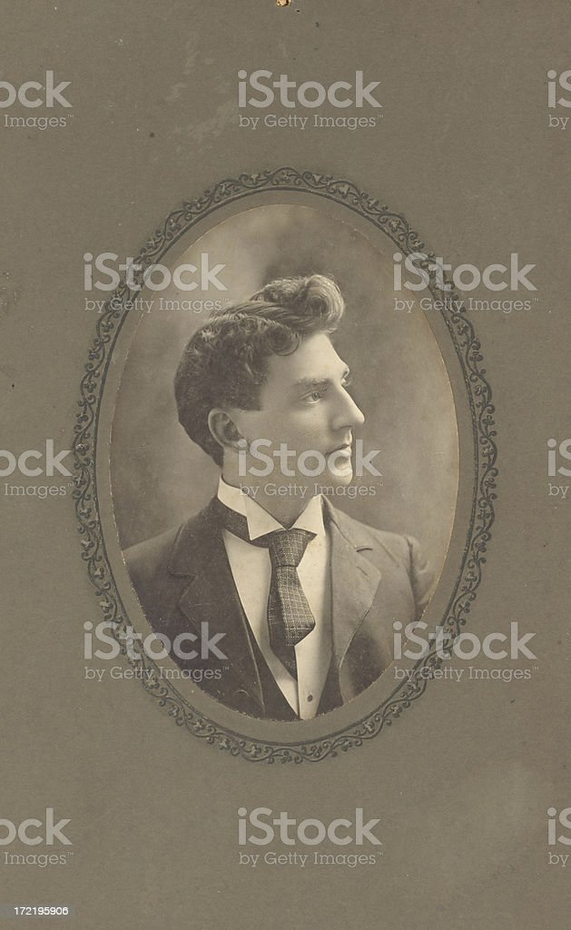 Vintage photo from 1904 royalty-free stock photo