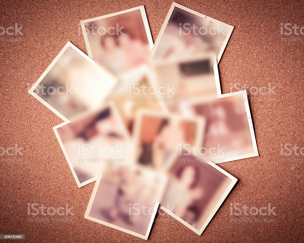 Vintage Photos Blur stock photo