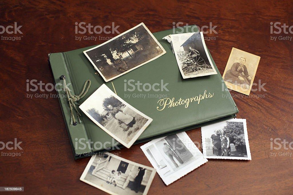 Vintage Photos royalty-free stock photo