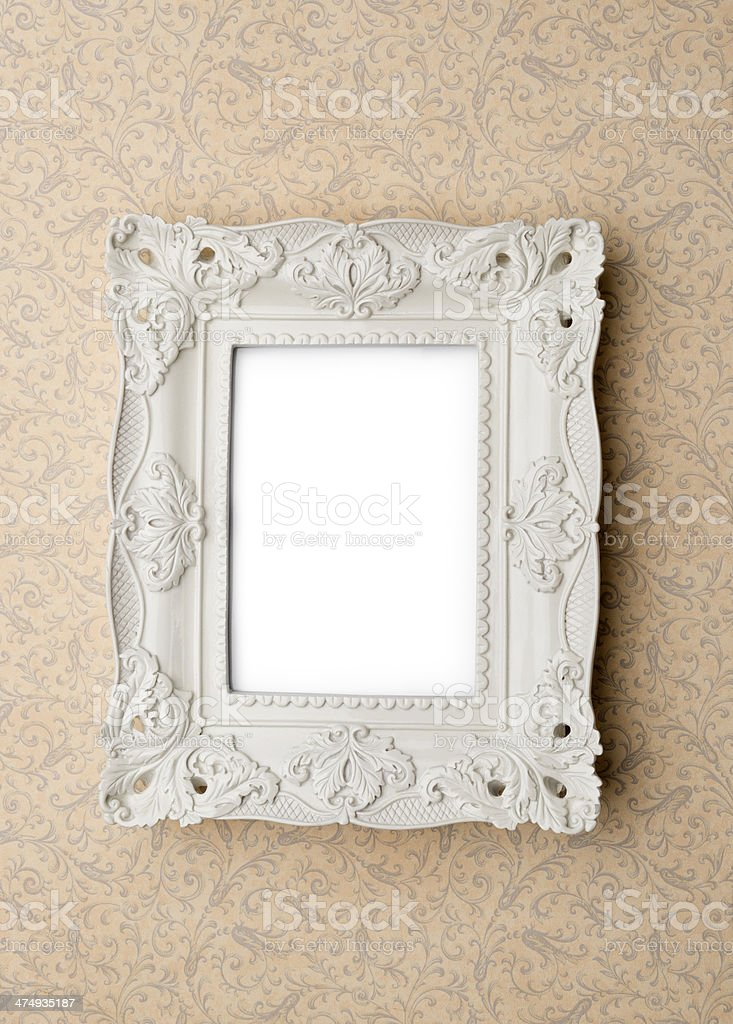 Vintage picture frame royalty-free stock photo