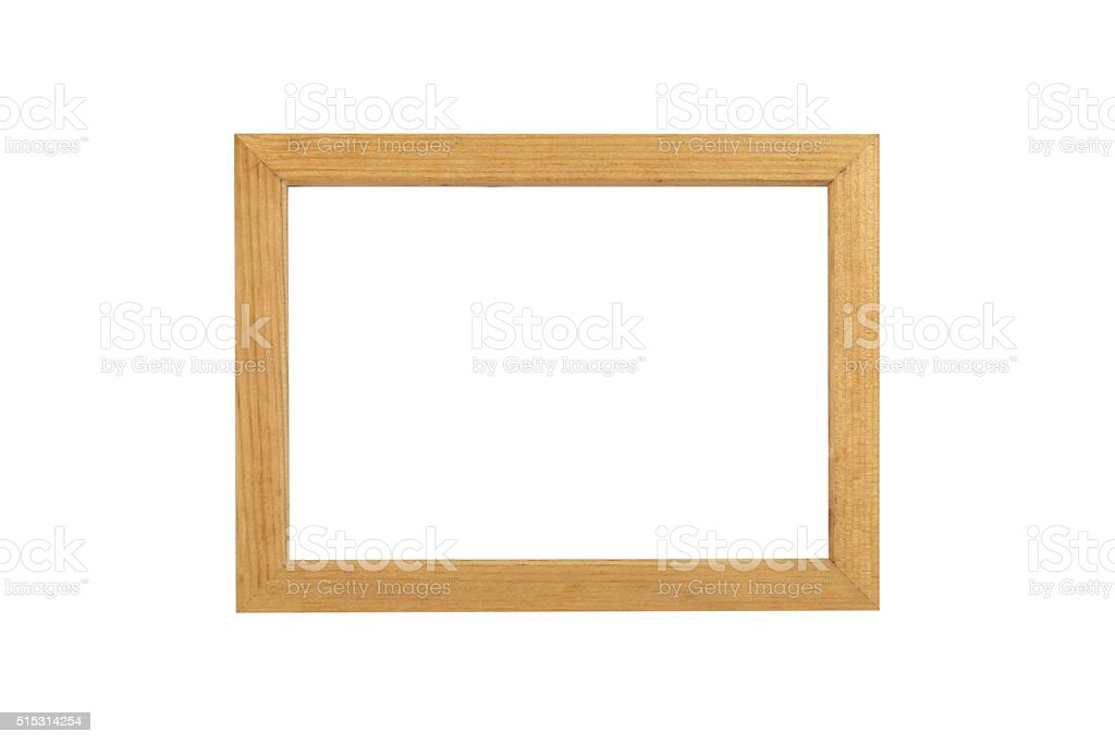 vintage picture frame stock photo