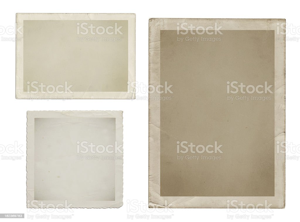 Vintage pictures stock photo
