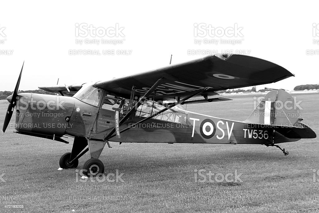 Vintage Plane stock photo