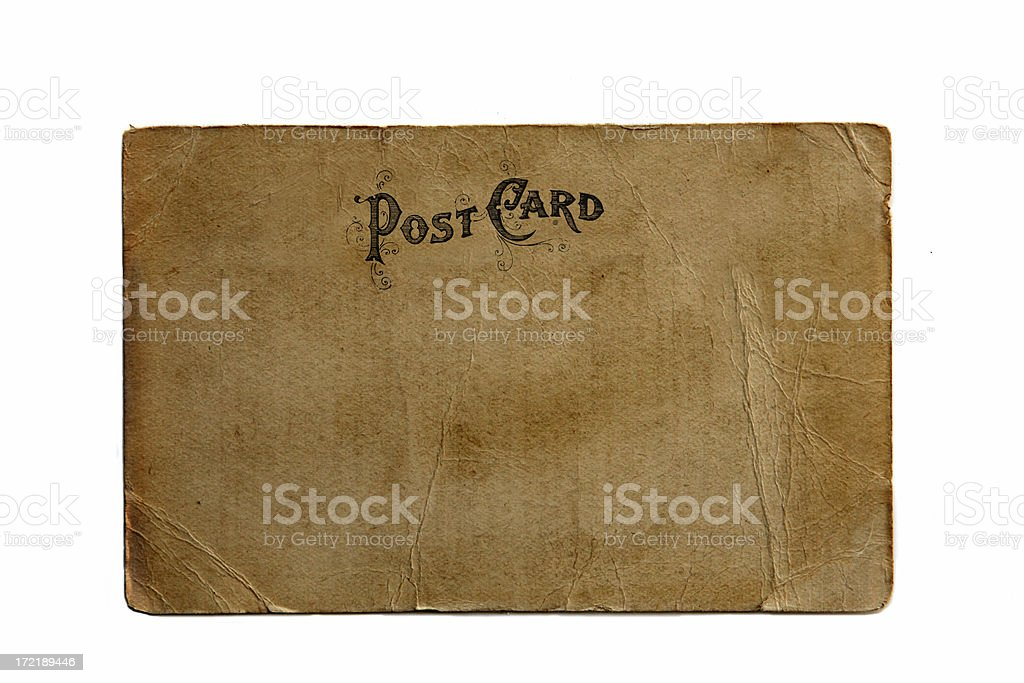 Vintage Post Card royalty-free stock photo