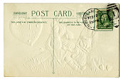 Vintage Post Card Rear with Satmp