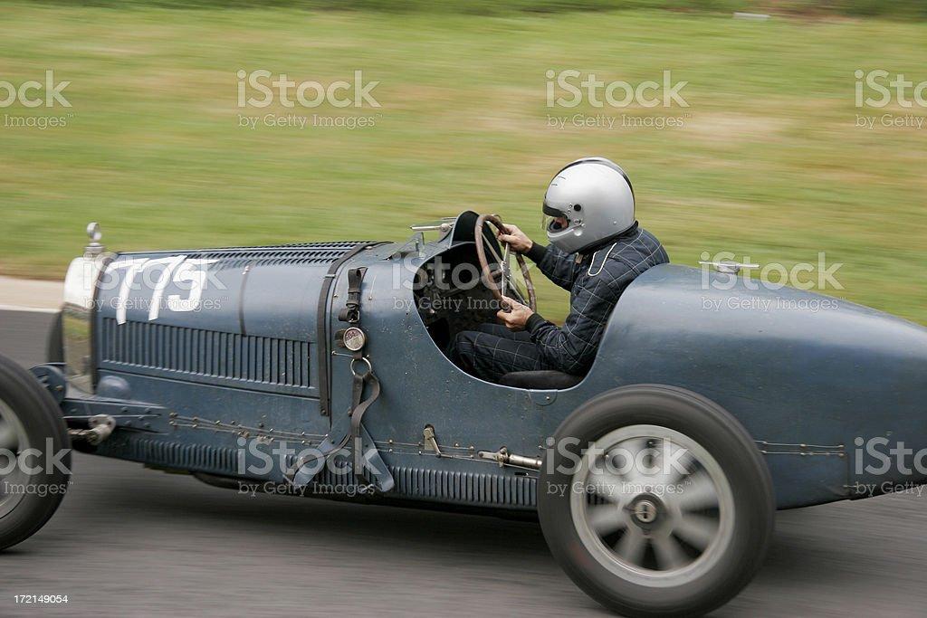 Vintage racing car royalty-free stock photo