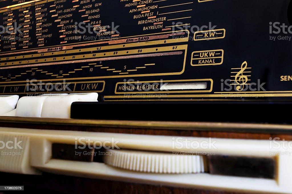 Vintage Radio royalty-free stock photo