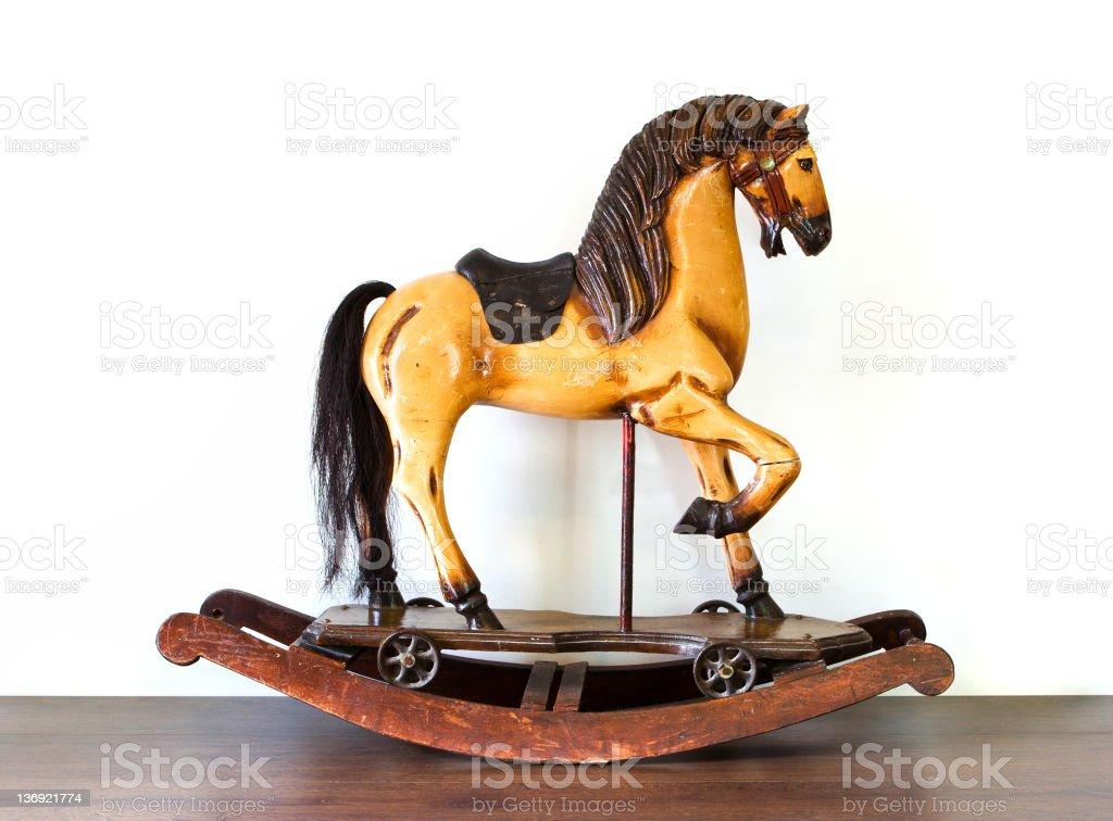 Vintage Rocking Horse royalty-free stock photo