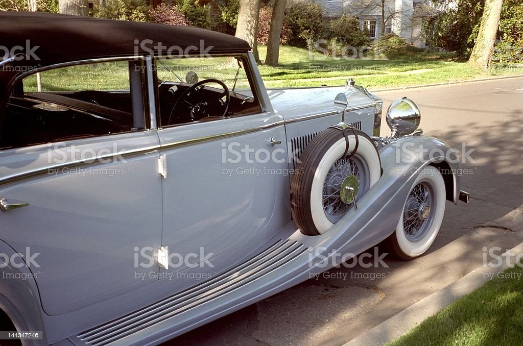 Vintage Rolls Royce royalty-free stock photo