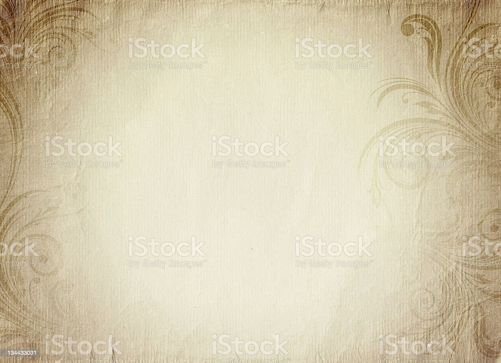 Vintage romantic paper stock photo