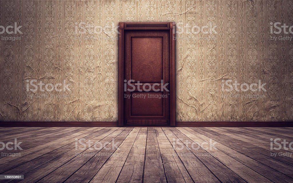 Vintage room background royalty-free stock photo
