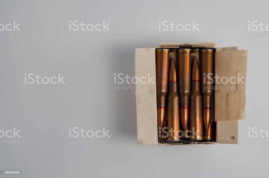Vintage rounds stock photo
