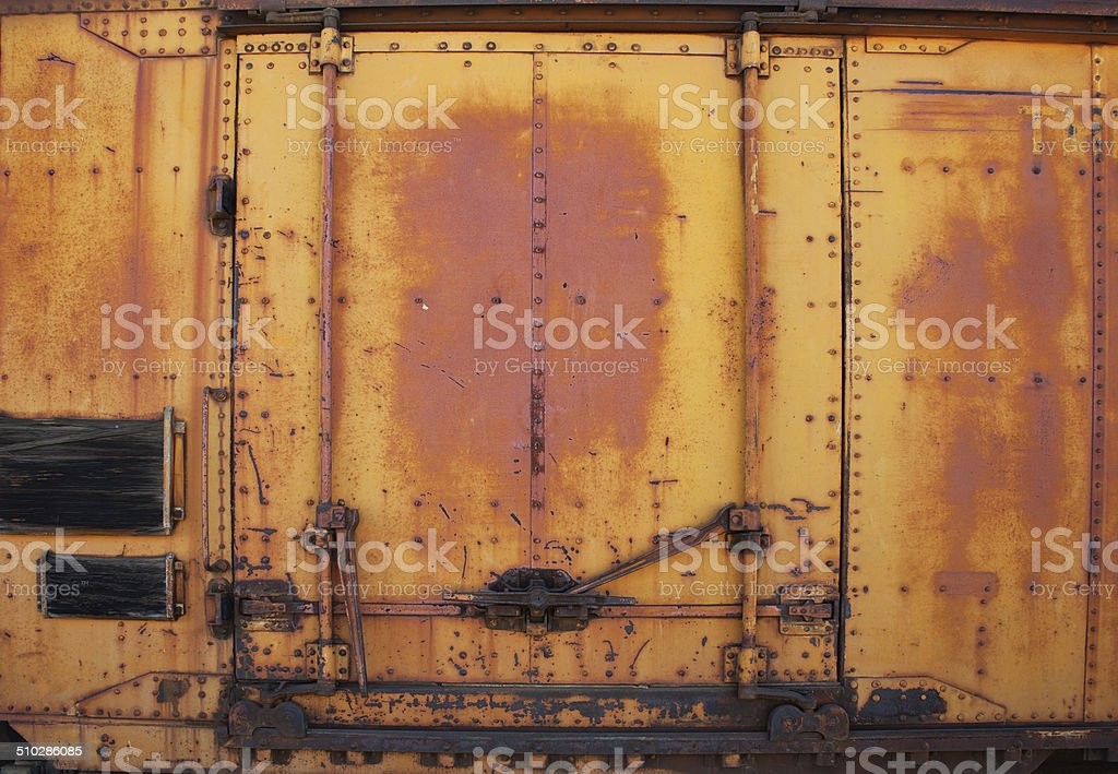 Rusty Door cargo container rusty door rust pictures, images and stock photos