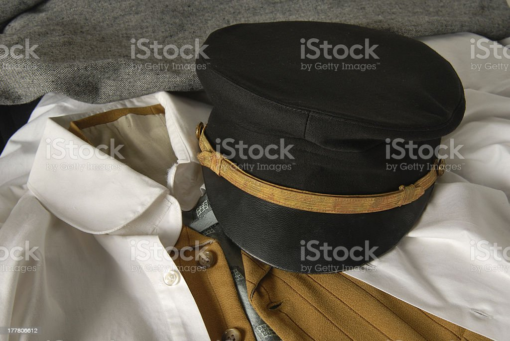 Vintage Sailor Hat stock photo