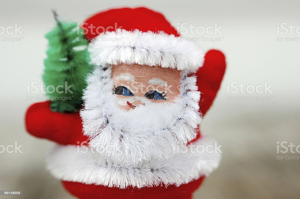 vintage santa royalty-free stock photo