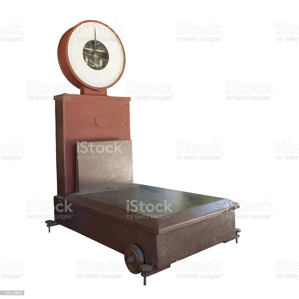 Vintage Scale royalty-free stock photo