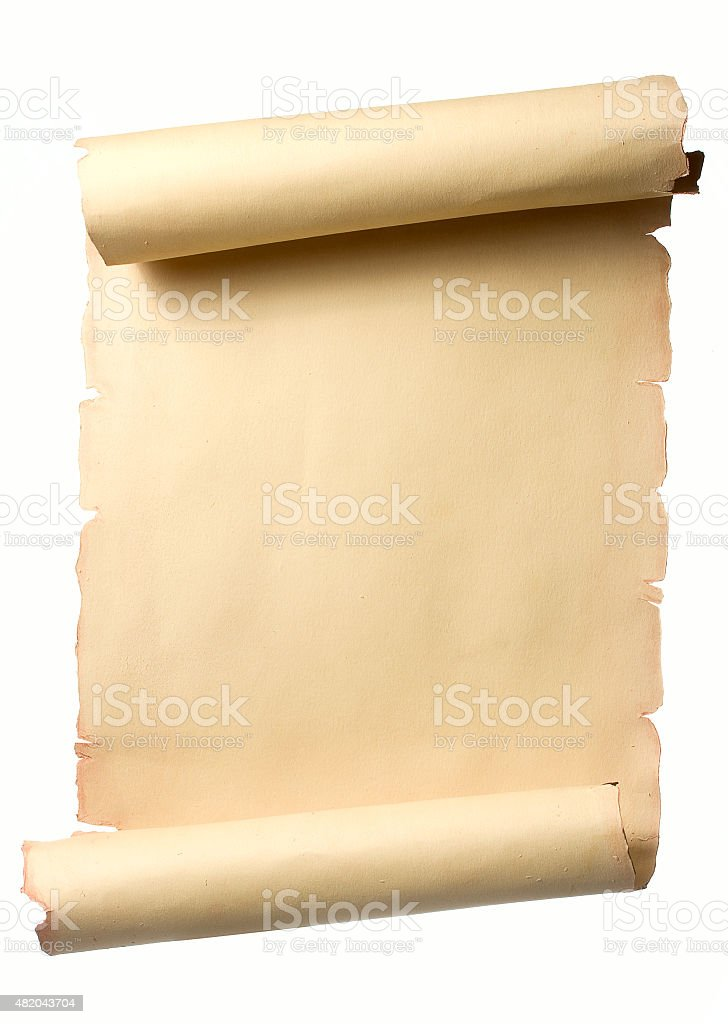 Vintage Scroll stock photo