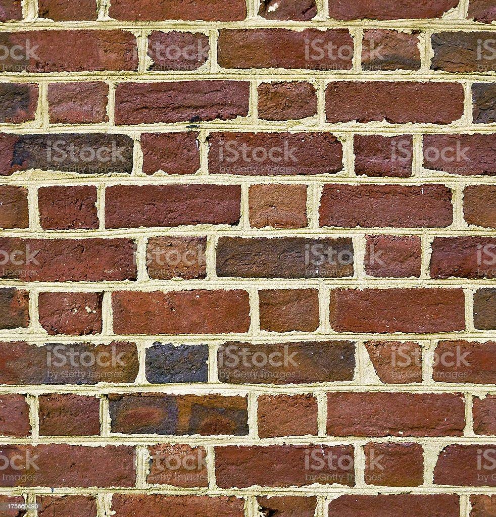 Vintage Seamless Brick royalty-free stock photo