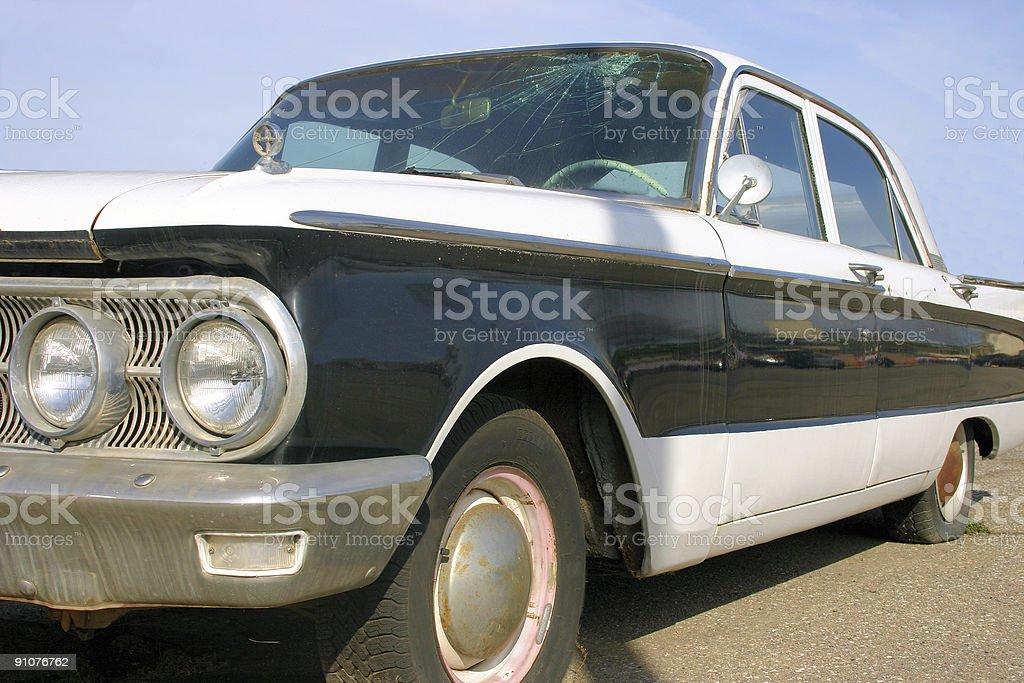 Vintage sedan royalty-free stock photo
