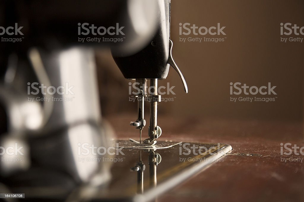 Vintage Sewing Machine royalty-free stock photo