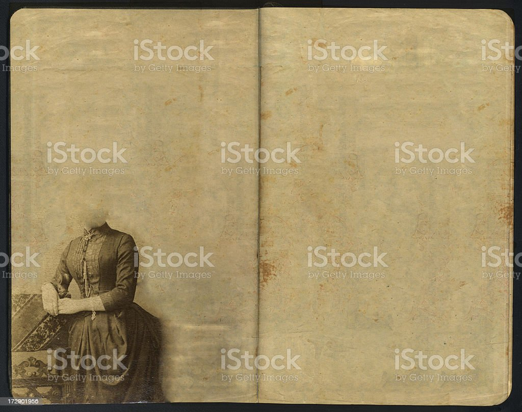 Vintage Sketch Pad Vol V royalty-free stock photo