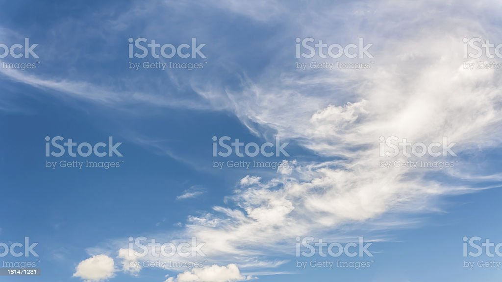 Vintage sky. royalty-free stock photo
