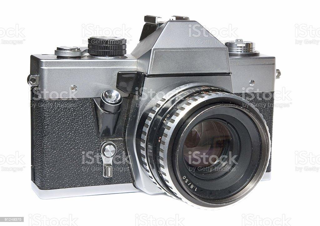 Vintage SLR stock photo