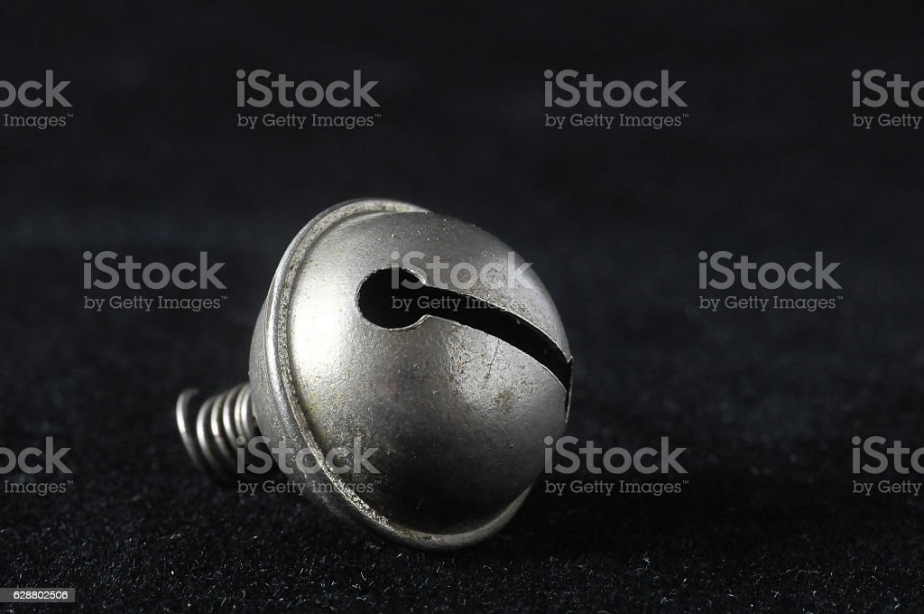Vintage Small Metal Bell stock photo