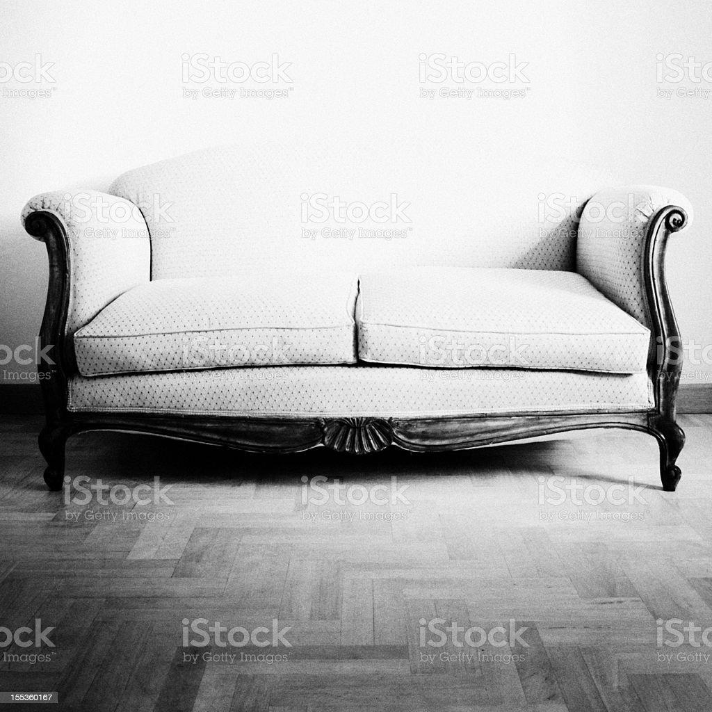 Vintage Sofa royalty-free stock photo