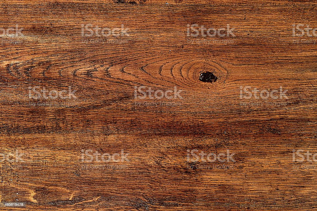 Vintage solid oak wood background. stock photo