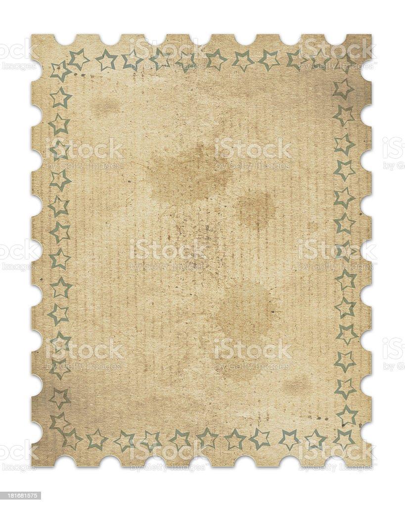 vintage stamp royalty-free stock photo