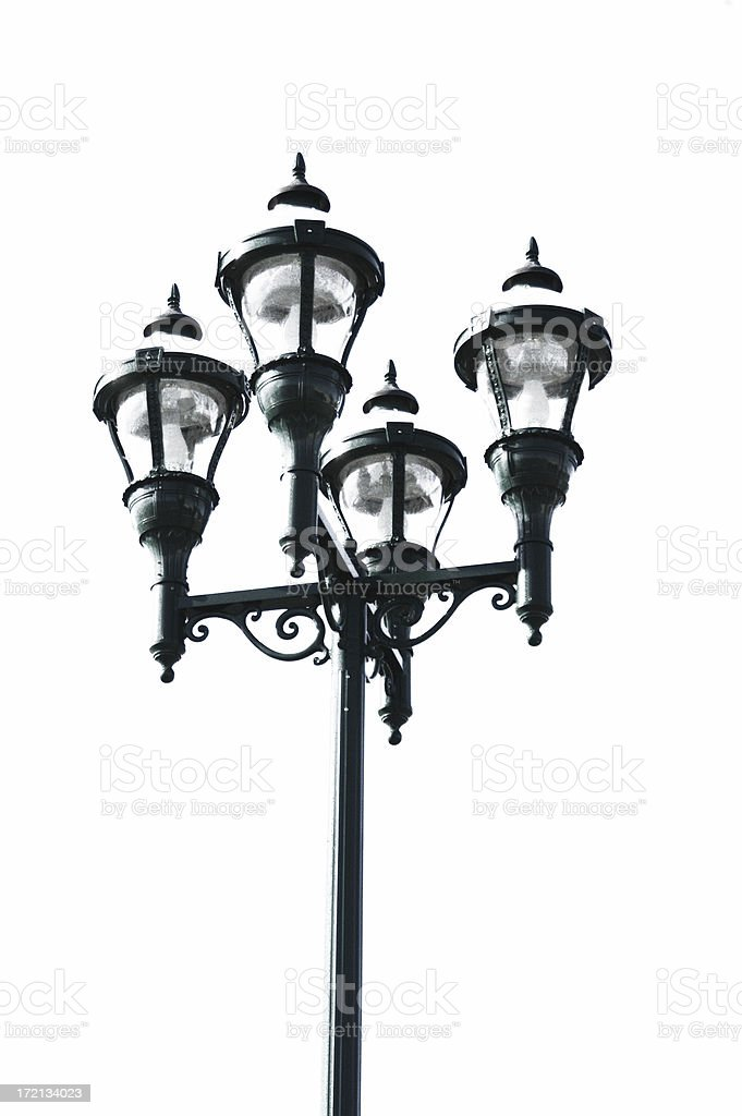 Vintage Street Lamp royalty-free stock photo