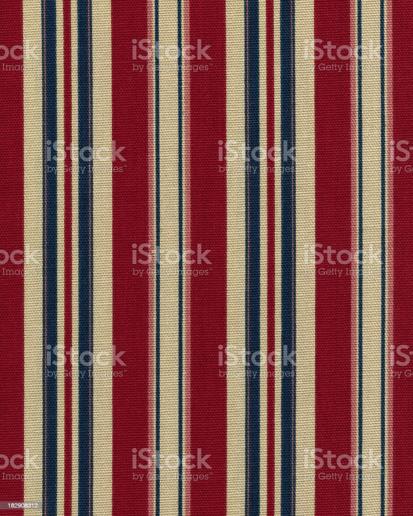 vintage striped fabric royalty-free stock photo