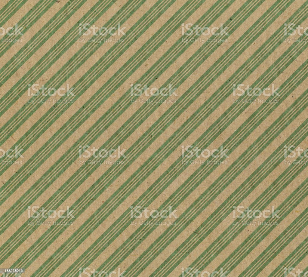 High resolution vintage striped paper vector art illustration