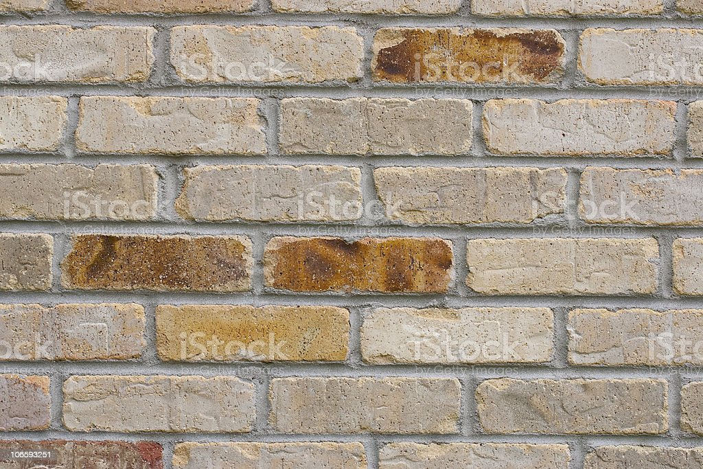 Vintage Style Brick Wall stock photo