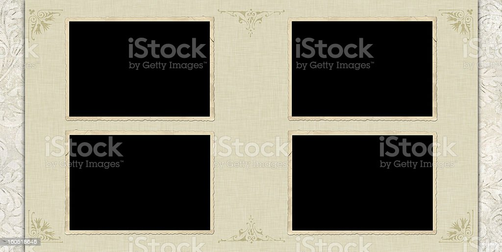 Vintage style template royalty-free stock photo