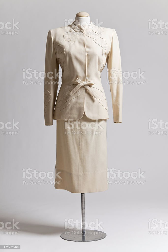 Vintage Suit royalty-free stock photo