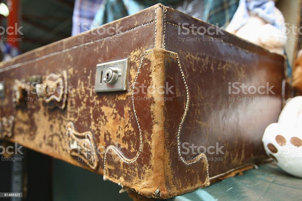 vintage Koffer Lizenzfreies stock-foto