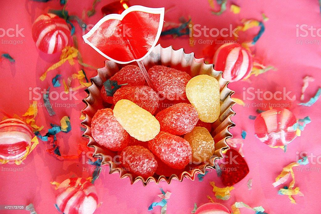 Vintage dolce zucchero caramelle foto stock royalty-free
