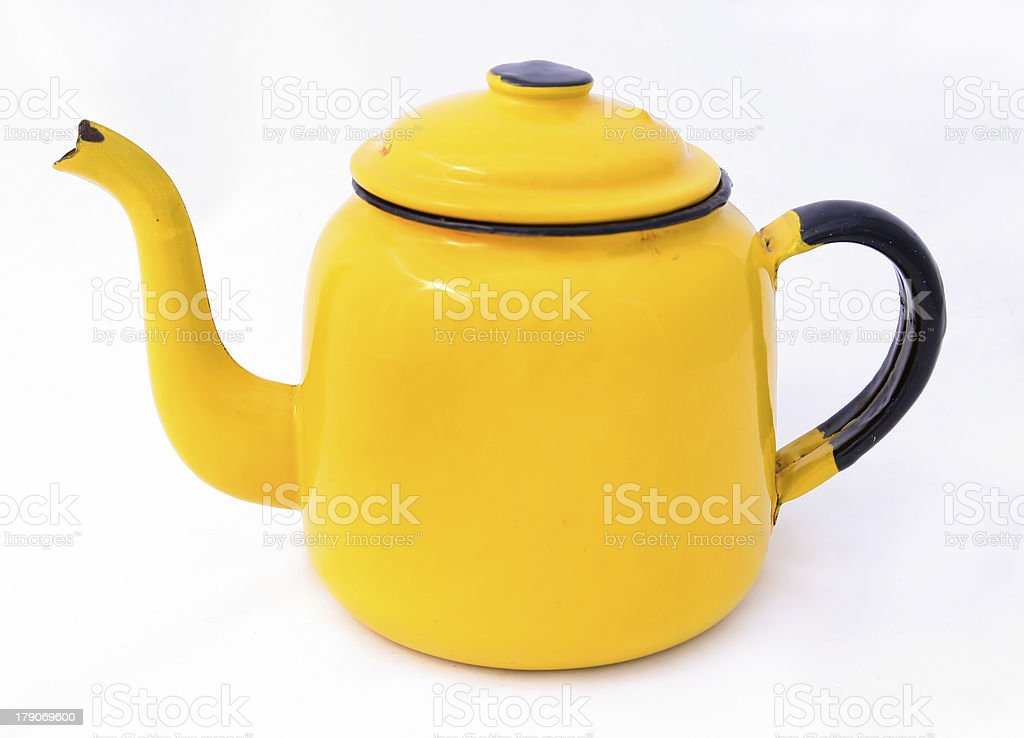 Vintage teapot royalty-free stock photo